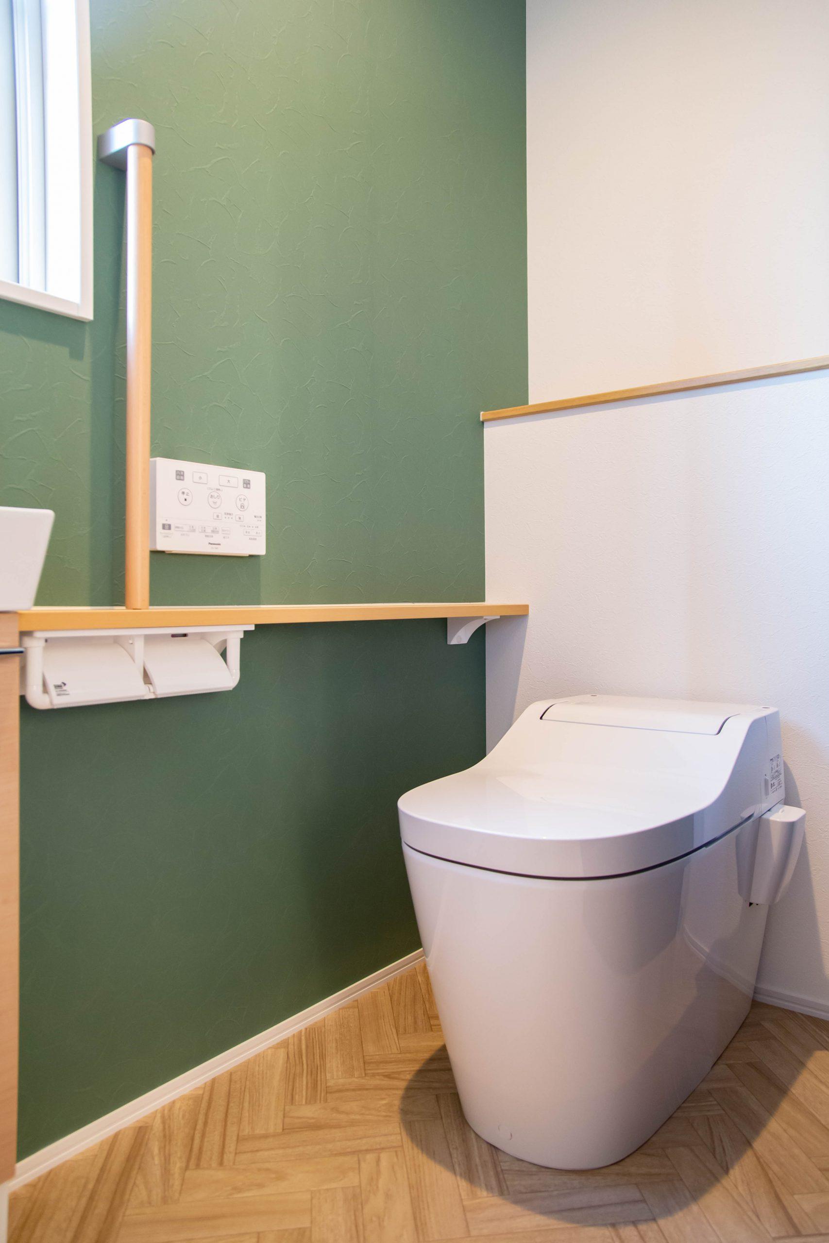 新築実例 トイレ