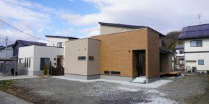 【山形県上山市】新築一戸建て実例写真 外観