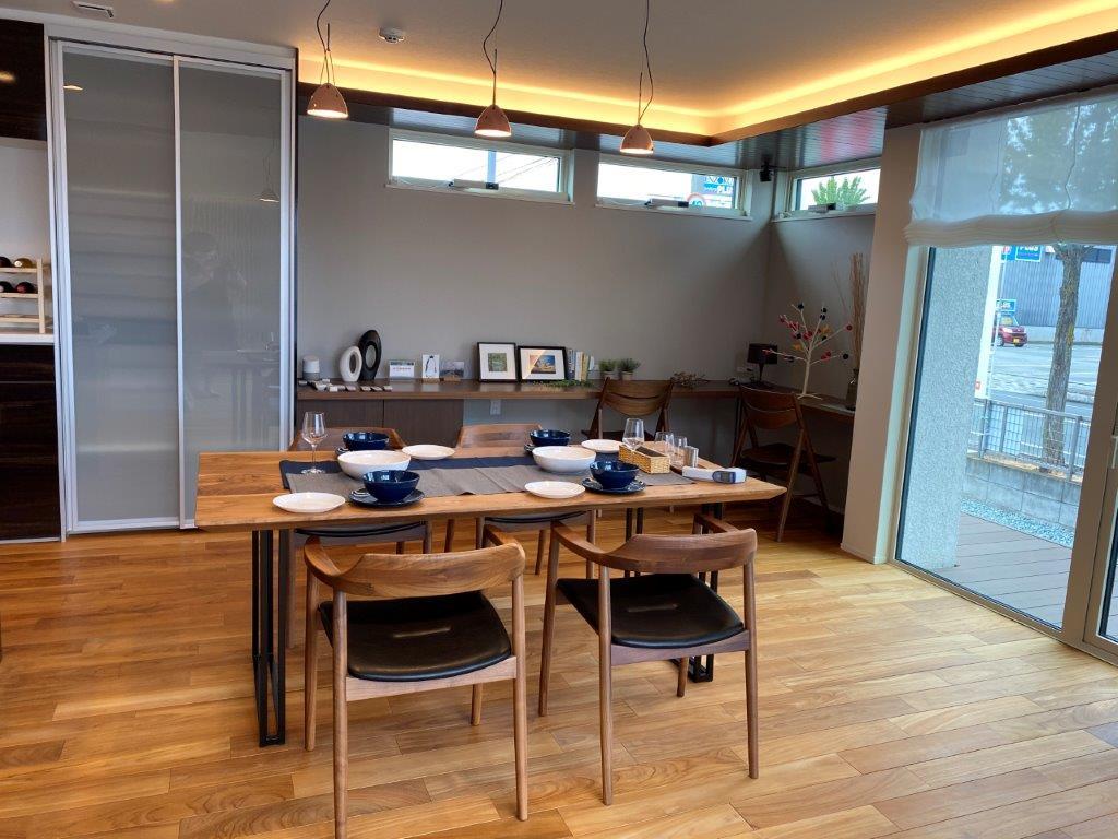近江建設 フィアスホーム 山形店 モデルハウス内観写真