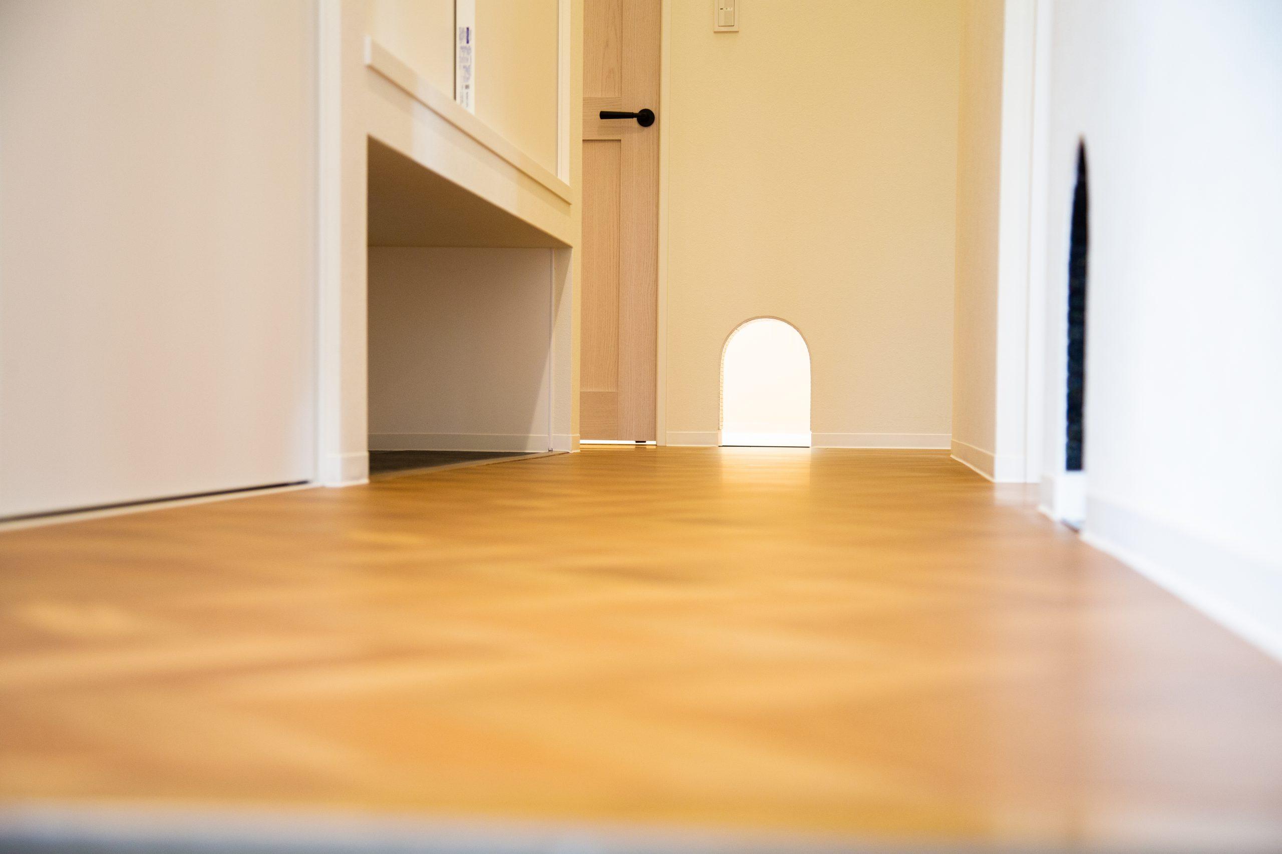 【山形県長井市】新築一戸建て実例写真 キャットスルーのある猫と暮らす家