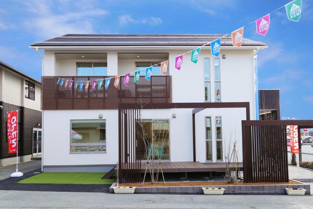 株式会社近江建設のブログ アイフルホーム 天童店のモデルハウス